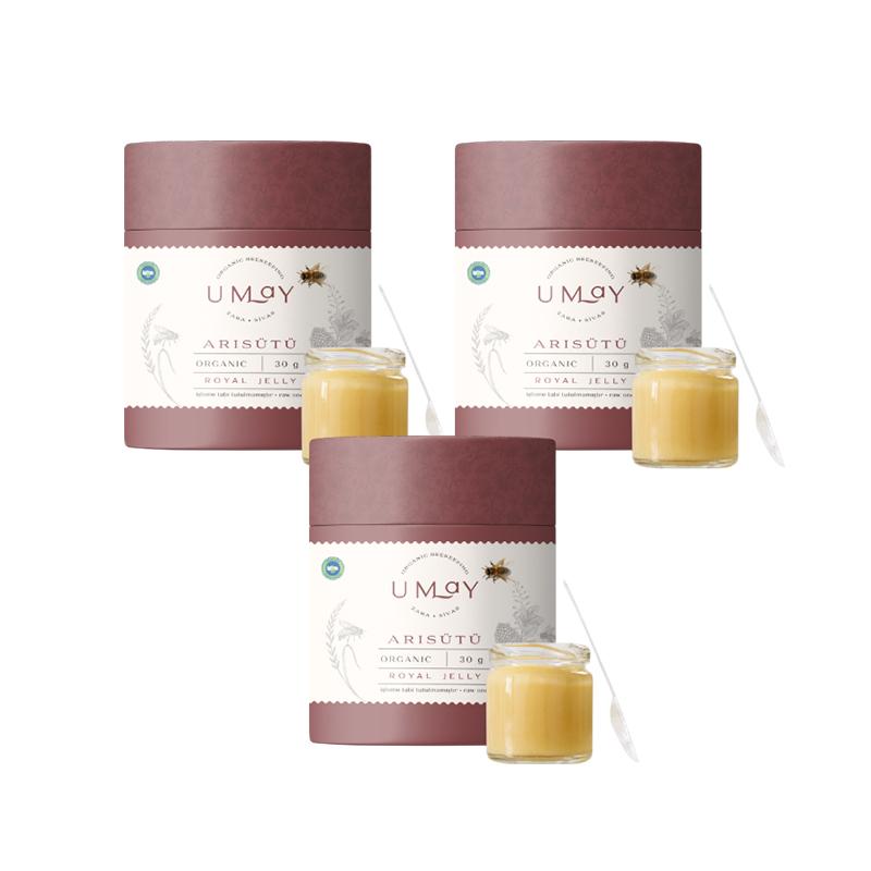 Umay Herbal Organik Taze Arısütü 3'lü