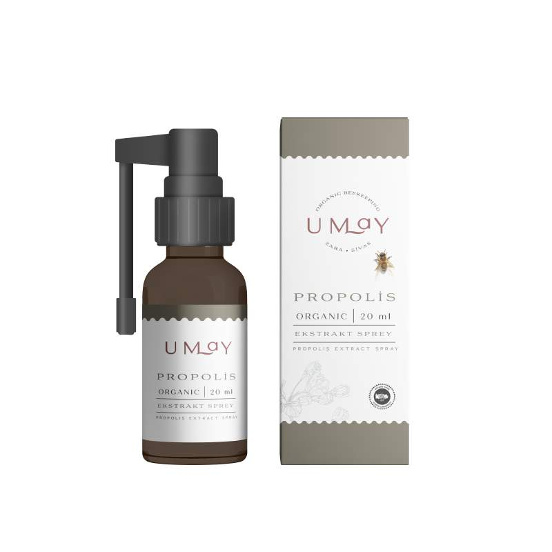 Umay Herbal Organik Propolis Oral Sprey Alkol Bazlı 20 ml