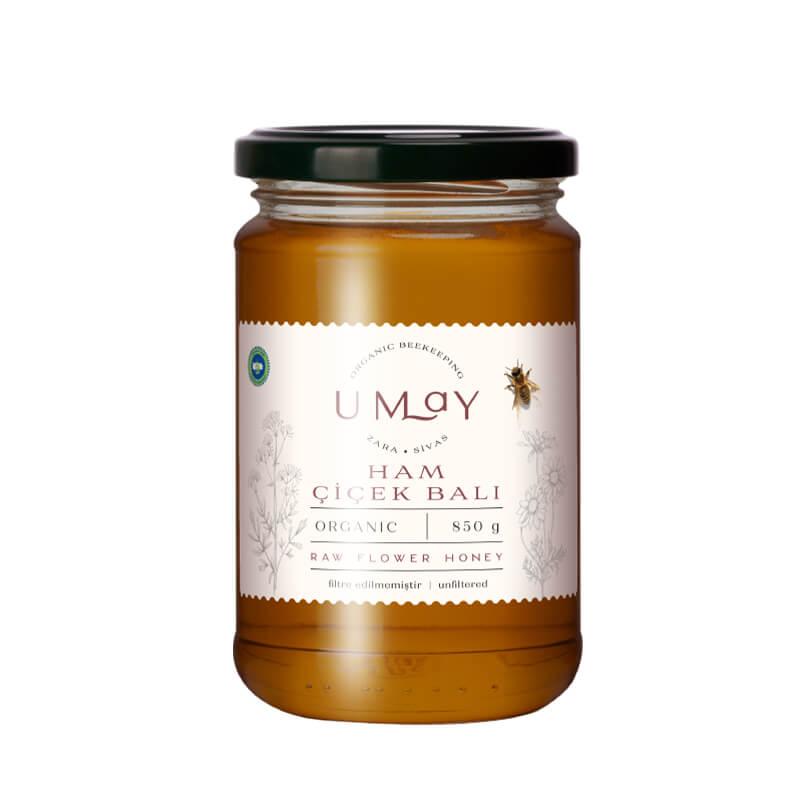 Umay Herbal Organik Ham Balı 850 gr